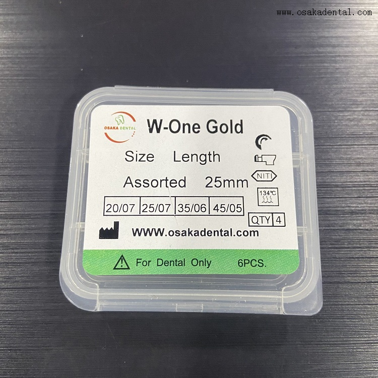 Fichier Dental Protaper Wave One One Gold Nitits Files